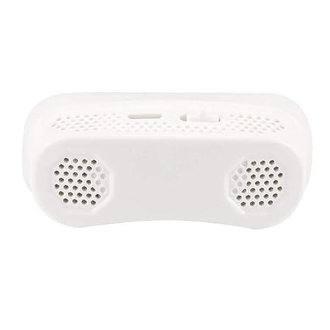 Yowerf Dispositivo antirronquidos Nasal respirador electr/ónico ronquidos congesti/ón Nasal Dispositivo de ablaci/ón sue/ño apnea Ayuda Dispositivo Color : Azul