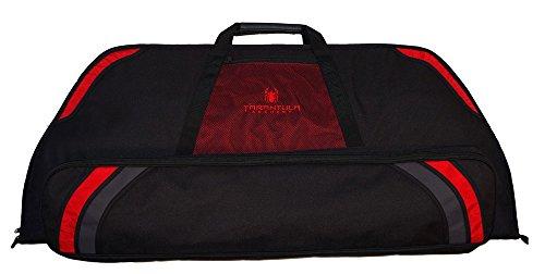 Tarantula Archery Single Lite Bow Case Black/Red, Standard