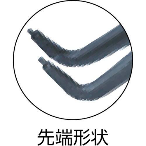 KNIPEX 48 21 J41 Pince de pr/écision pour circlips pour circlips int/érieurs dal/ésage grise atramentis/ée gain/ées en plastique antid/érapant 305 mm