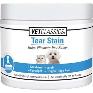 MFR BACKORDER 71816 Vet Classics Tear Stain Remover (100 gm)