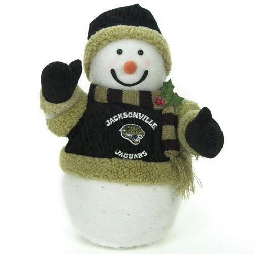 NFL Jacksonville Jaguars Snowman Ornament