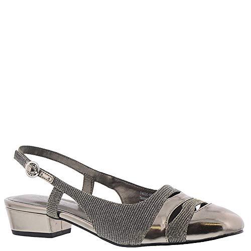Ros Hommerson Tempt Women's Casual Shoe: Silver/Glitter 11.5 Medium (B) Buckle