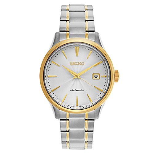 Seiko-Mens-Japanese-Automatic-Stainless-Steel-Casual-Watch-ColorTwo-Tone-Model-SRP704