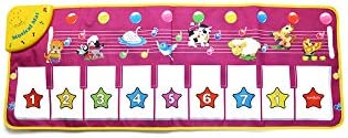 簡単には子供のおもちゃを実施するための子供のピアノマット、多機能ミュージカルカーペット、赤ちゃんの早期教育ジムブランケットライト