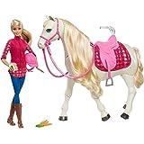 Barbie DreamHorse & Blonde Doll