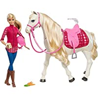 Barbie DreamHorse & Blonde Doll