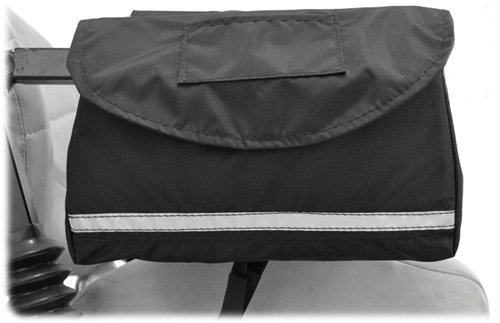 Mobility Saddlebag for Wheelchairs, Power Chairs & Scooters 10'' x 8'' x 2''