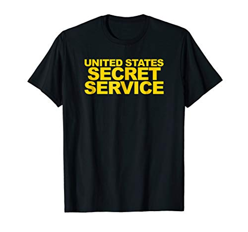 U.S. Secret Service Shirt Front Print Law