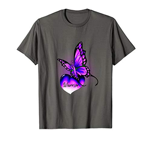 Butterfly With Fibromyalgia Awareness Ribbon - Ribbon Butterfly Fibromyalgia