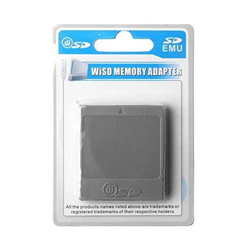 SD Memory Card Stick Card Reader Converter Adapter for the Nintendo Wii NGC Gamecube Console - TBGS by TBGS