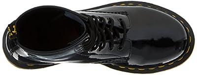 Dr. Marten's Women's 1460 8-Eye Patent Leather Boots, Black Patent Lamper, 3 F(M) UK / 5 B(M) US Women / 4 D(M) US Men