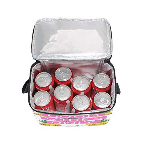 à Enfants Vibes Good Box pour Cooler Lunch Isotherme Tout Pique fourre Sac Nique déjeuner Femme Ananas Homme Fruit Sac Domoko d'école 5dXnO6wRwq