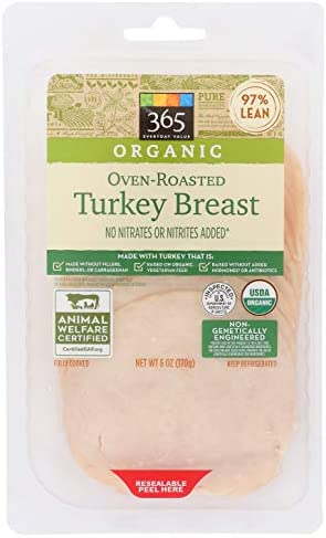 365 Everyday Value, Organic Oven Roasted Turkey Breast, 6 oz