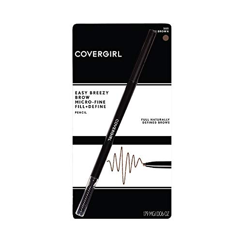 COVERGIRL Easy Breezy Brow Micro-fine & Define Pencil (packaging may vary)