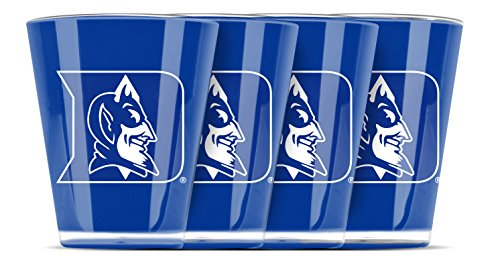 NCAA Duke Blue Devils Insulated Acrylic Shot Glass Set of 4
