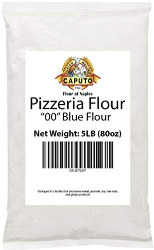 Antimo Caputo Pizzeria Flour (Blue) 5 Lb Repack - Italian Double Zero 00 Flour for Authentic Pizza Dough