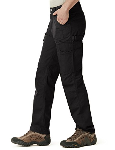 CQR CQ-TWP302-BLK_38W/34L Men's Operator Rip-Stop Tactical Work Utility Pants EDC TWP302 by CQR (Image #3)