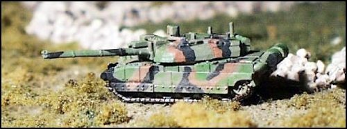 Modern Micro Armour - France & Netherlands 1:285 Leclerc MBT