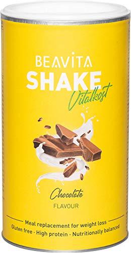 Batidos para adelgazar sabor Chocolate 500 g – Sustitutivo de comida proteico – Batido saciante de apetito – Para perder peso y mantener músculo - Alimento dietético hipocalórico - de BEAVITA