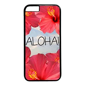 Aloha With Flower Theme Iphone 6 plus