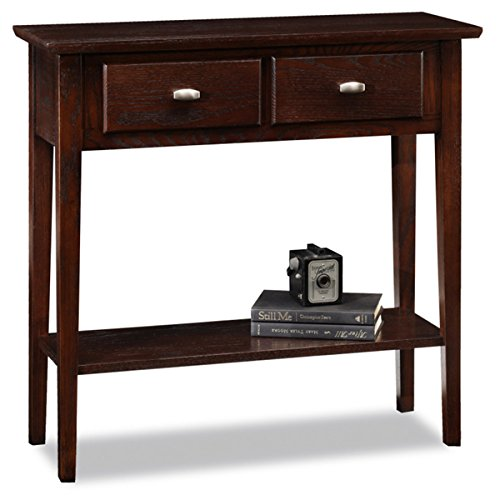 KD Furnishings Favorite Finds Solid Oak Hall Console Sofa Table, Brown by KD Furnishings