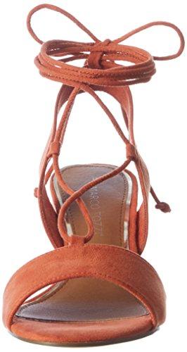 Marco Tozzi 2-2-28309-28 606, Sandalias con Tacón Mujer Naranja (Naranja 606)