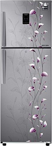 Samsung 318 L 3 Star Frost Free Double Door Refrigerator RT34K3983SZ/HL, Silver, Convertible, Inverter Compressor