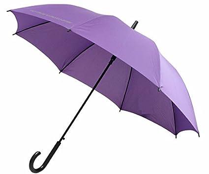 Stock pantalla Lila Benetton – Paraguas automático Paraguas Mujer Hombre 1548