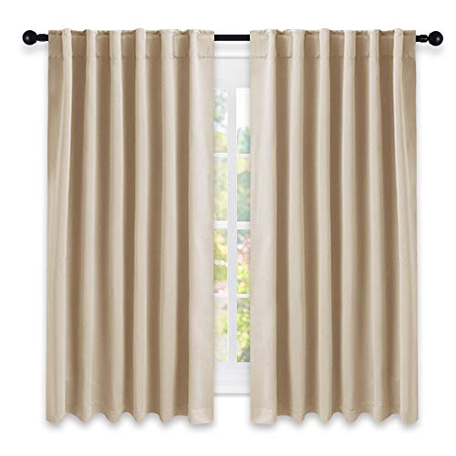 Nicetown Window Treatment Curtains Room Darkening Drapes