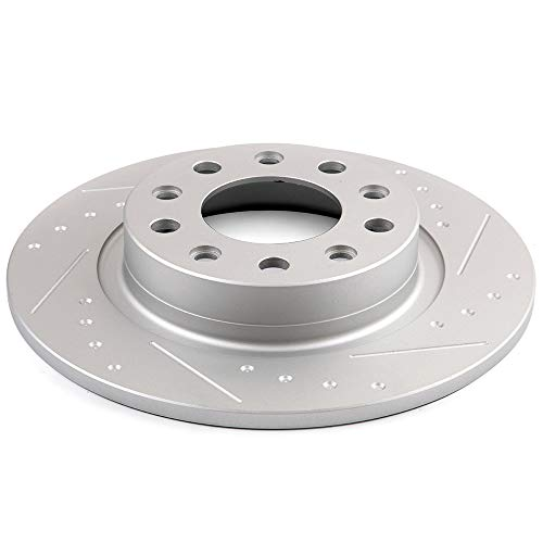 For 2013 2014 2015 2016 Dodge Dart Rear Brake Rotors /& Ceramic Pads