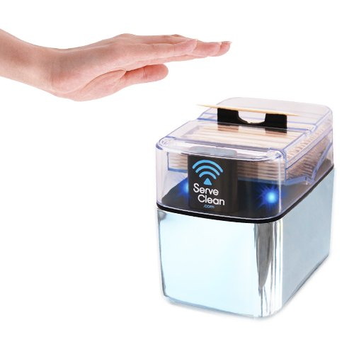Serve Clean Smart Toothpick Dispenser, ()