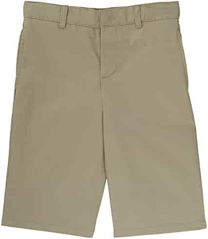 French Toast Boys' Basic Flat-Front Short with Adjustable Waist