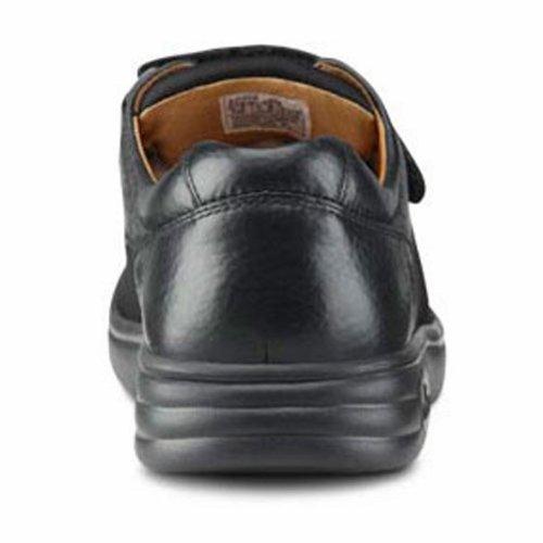 Dr. Confort Annie-x Femmes Thérapeutique Diabétique Double Profondeur Chaussure Lycra Velcro Noir