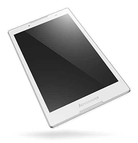 Lenovo TAB 2 A8-50 20,3 cm (8 Zoll HD IPS) Tablet (MediaTek 8735 Quad-Core Prozessor, 1,3GHz, 1GB RAM, 16GB eMMC, 2MP + 5MP Kamera, Touchscreen, LTE, Android 5.0) weiss