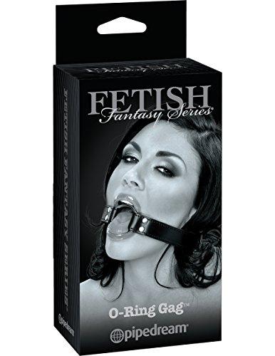 Fetish Fantasy Limited Edition by Pipedream O-Ring Gag - Mundknebel verstellbar mit O-Ring Öffnung, Durchmesser maximal 48 mm