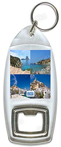Ibiza España - Llavero abridor de botellas Souvenir: Amazon ...