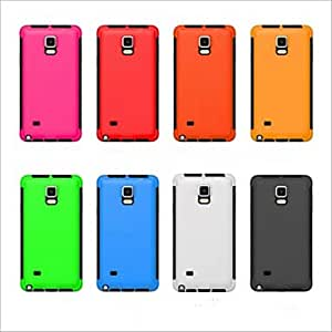 SHOUJIKE Two-In-One Ultra Thin Full Body Cases Back Cover for Samsung Galaxy Note 4(Assorted Colors) , White