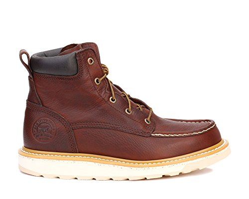"Irish Setter Men's 6"" 83605 Work Boot,Brown,10.5 D US"