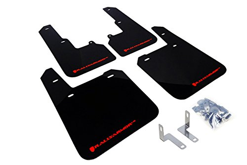Rally Armor MF36-UR-BLK/RD Subaru Outback 2015+ Direct Fit Mud Flaps (BLACK/RED) (Mud Flaps Outback compare prices)
