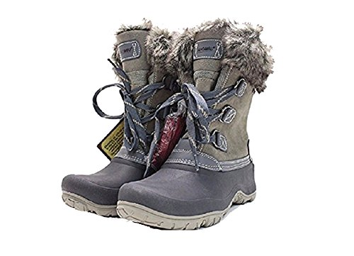 Khombu Women's The Slope Winter snow Boots 7 (Best Khombu Waterproof Hiking Boots)