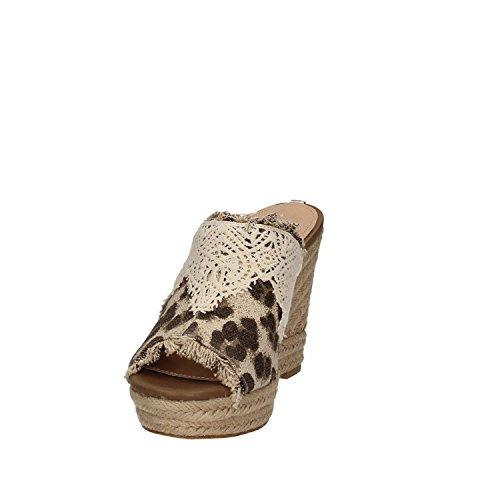 Sandalo Zeppa Donna Beige Flkle2 Fap19 Guess nfZOqwaAw