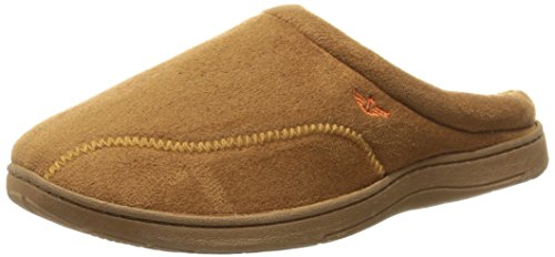 (Dockers Men's Christopher Roll Collar Clog Slipper, Tan, XX-Large/13 M US )
