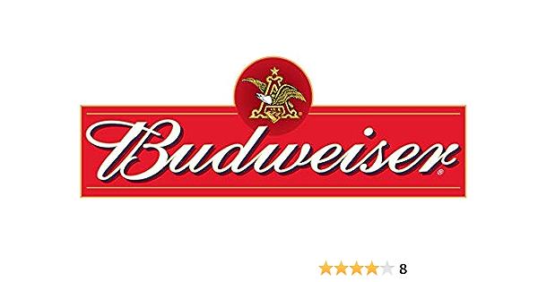 """BUDWEISER Sticker Decal Bumper Window LOGO BEER CHOOSE SIZE 3/""""-12/"""""""