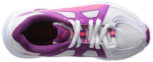 Puma Axis V3 Girl Turnschuhe Neu Kinder Schuhe Weiß / Violett