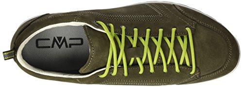 CMP Herren Atik WP Sneaker Grün (avocado)