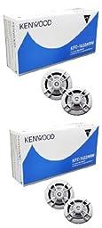 4) New Kenwood KFC-1633MRW 6.5\