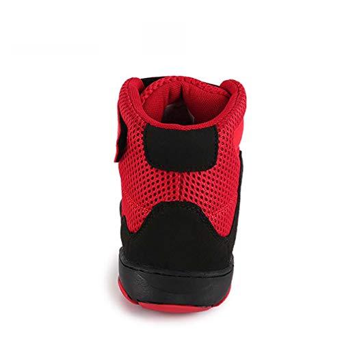 Confort Rouge trekking Mesh Automne Taille Hy Une chaussures À Sport printemps Course Chaussures jaune 33 couleur Pour De Vélo Hommes Pied 7S7BqFZ