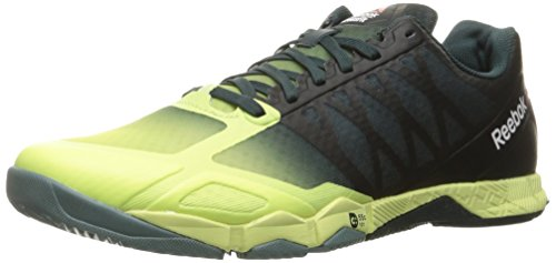 Reebok Women's Crossfit Speed TR Cross-Trainer Shoe, Lemon Zest/Forest Grey/Teal Dust/Black, 5.5 M US