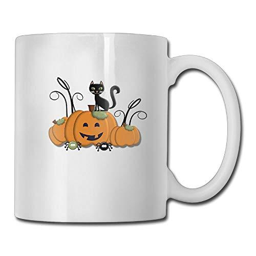 FOOOKL Pumpkin Kitten 11oz Tea Cup Coffee Mug ()