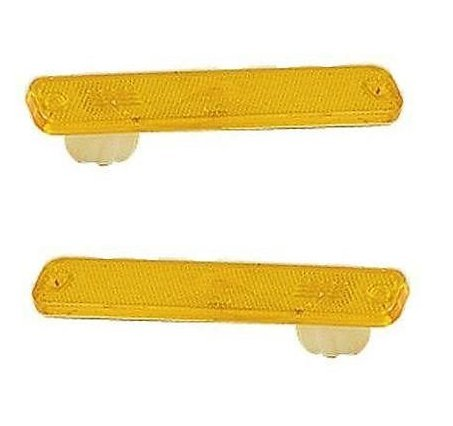 73 74 75 76 77 78 79 Ford Truck Front Side Marker Pair Set 78-79 Bronco 75-91 E-Series Van Driver and Passenger (79 Ford Econoline Van)